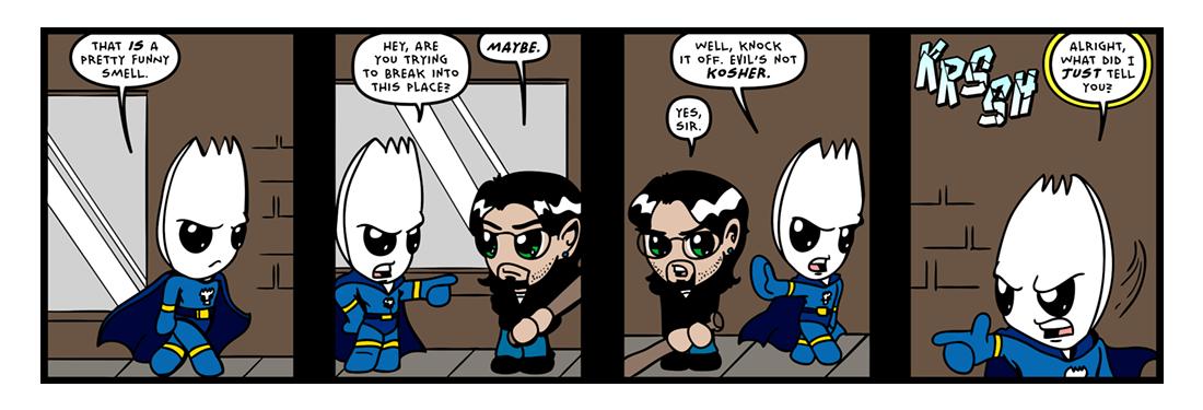 The �Secret� Origin of Sporkman! (09 of 25)  Comic Strip