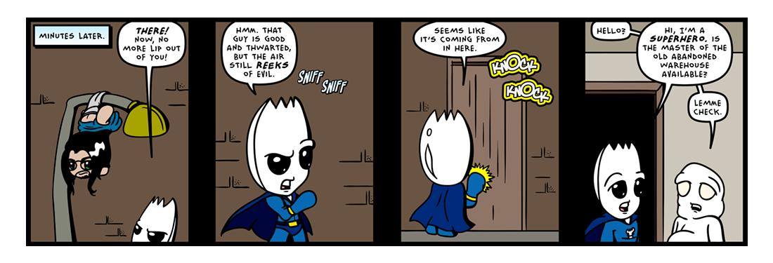 The �Secret� Origin of Sporkman! (10 of 25)  Comic Strip