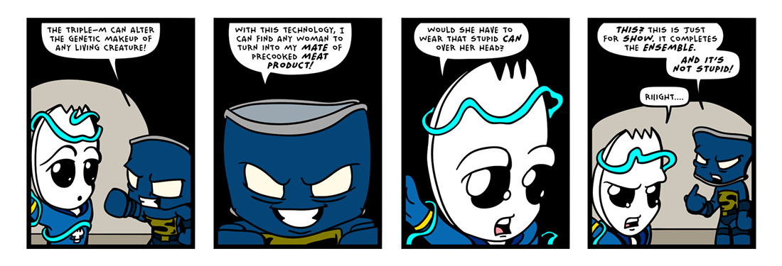 The �Secret� Origin of Sporkman! (17 of 25)  Comic Strip