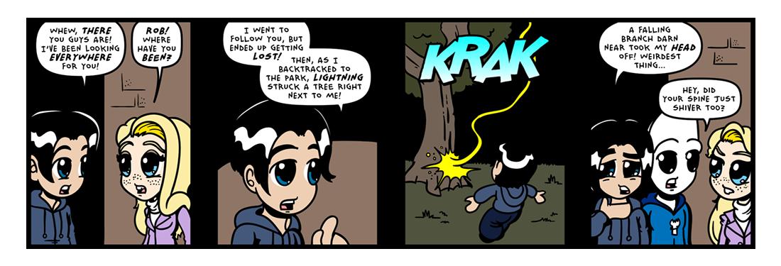 The �Secret� Origin of Sporkman! (23 of 25)  Comic Strip