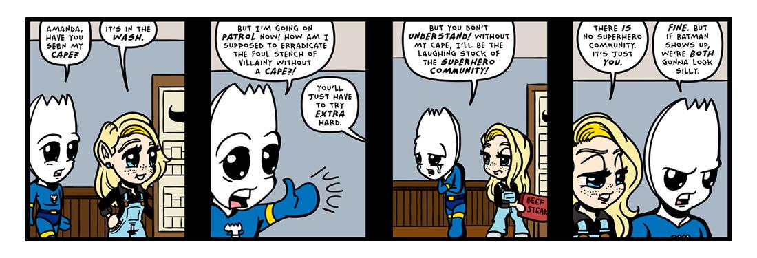 Laundry Day!  Comic Strip