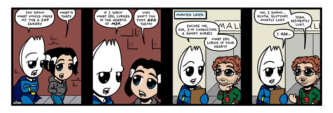 Who Knows?!  Comic Strip