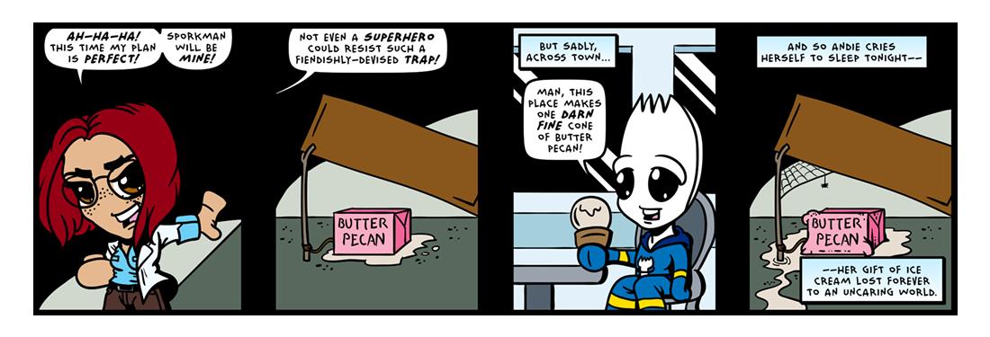 The Tasty Trap!  Comic Strip
