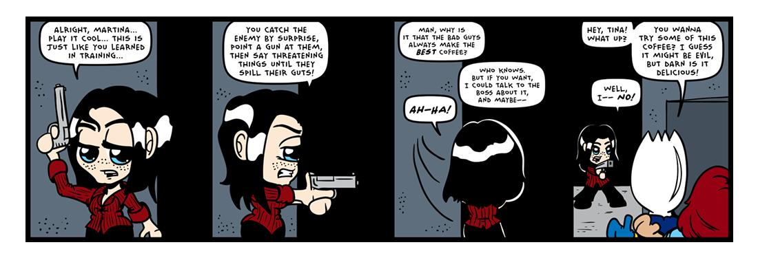 Evil Acquaintances! (01 of 03)  Comic Strip