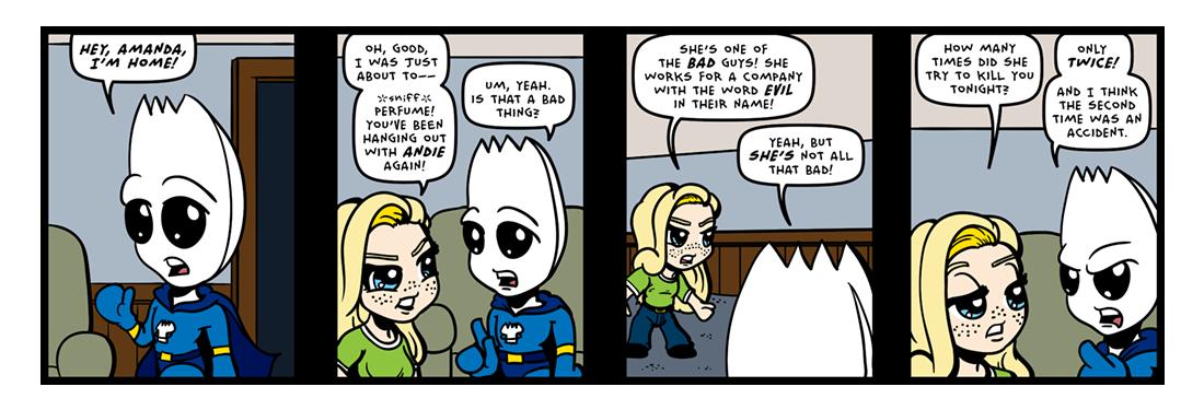 Evil Acquaintances! (02 of 03)  Comic Strip