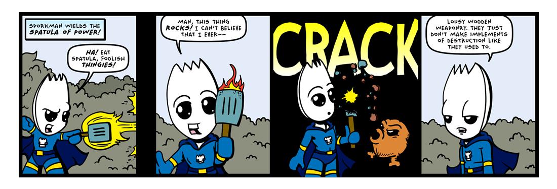 The Legend of Sporkman! (02 of 04)  Comic Strip