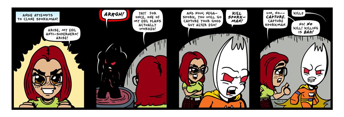 Test Tube Malevolence! (04 of 08)  Comic Strip