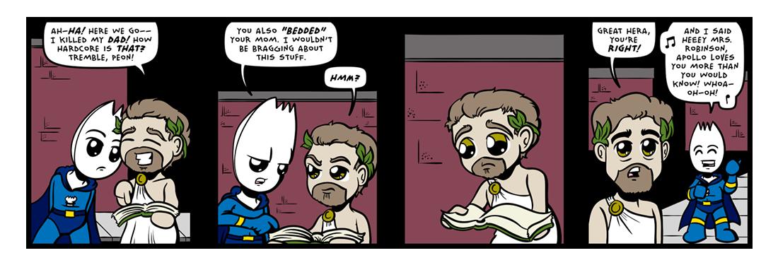 The Graduidiot!  Comic Strip