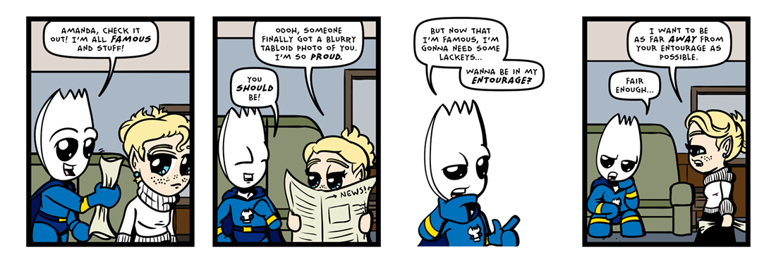 Fortune and Glory! (01 of 04)  Comic Strip