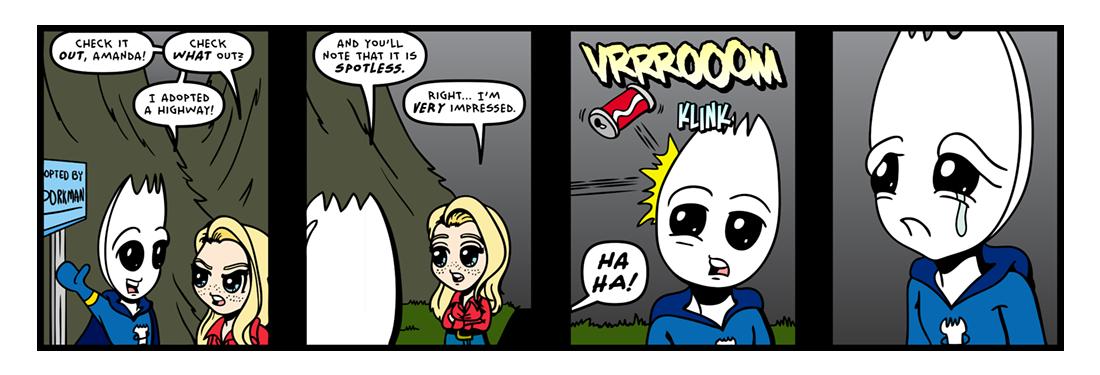 Roadside Assistance!  Comic Strip