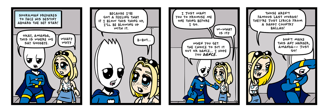 The Inevitable Death of Sporkman! (05 of 07)  Comic Strip