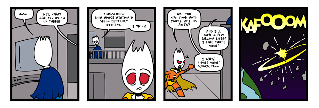 The Inevitable Death of Sporkman! (07 of 07)  Comic Strip