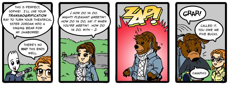11/18/2008  Comic Strip
