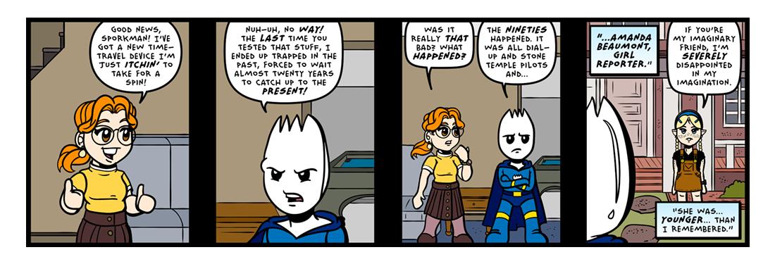 Somewhere In The Vasoline!  Comic Strip