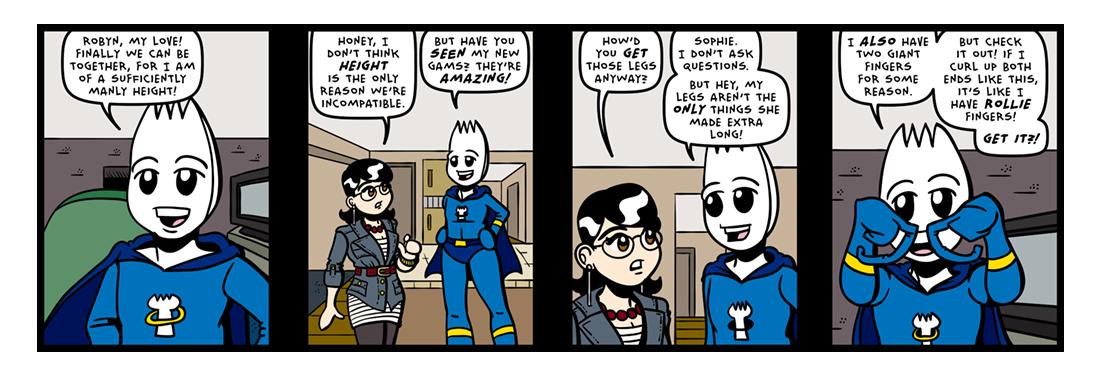 Killer Gams!  Comic Strip