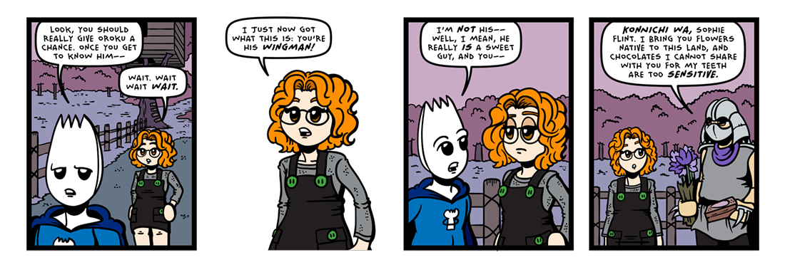 A Softer Shredder!  Comic Strip