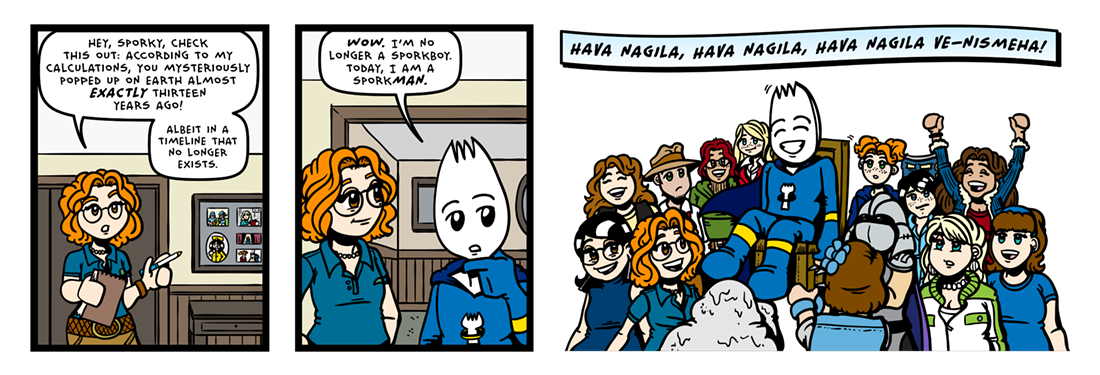 Thirteen!  Comic Strip