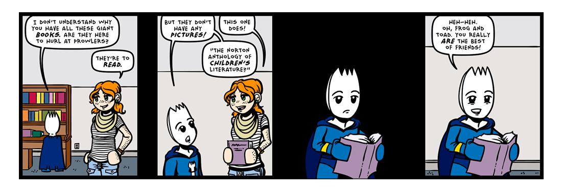 Kid Pix Brix!  Comic Strip