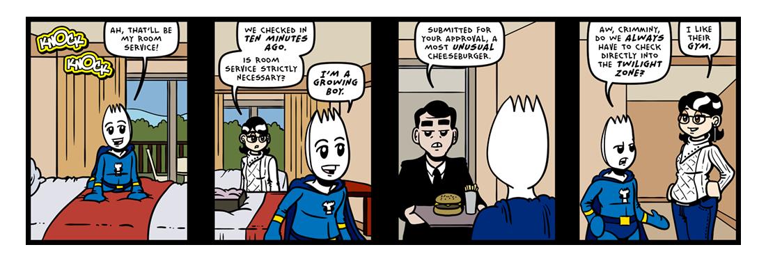 A Permanent Resident!  Comic Strip