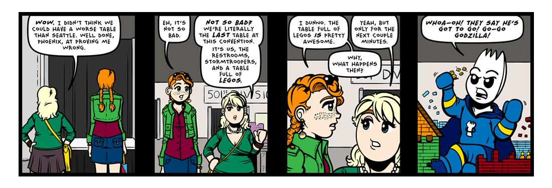 Con Artists! (01 of 05)  Comic Strip